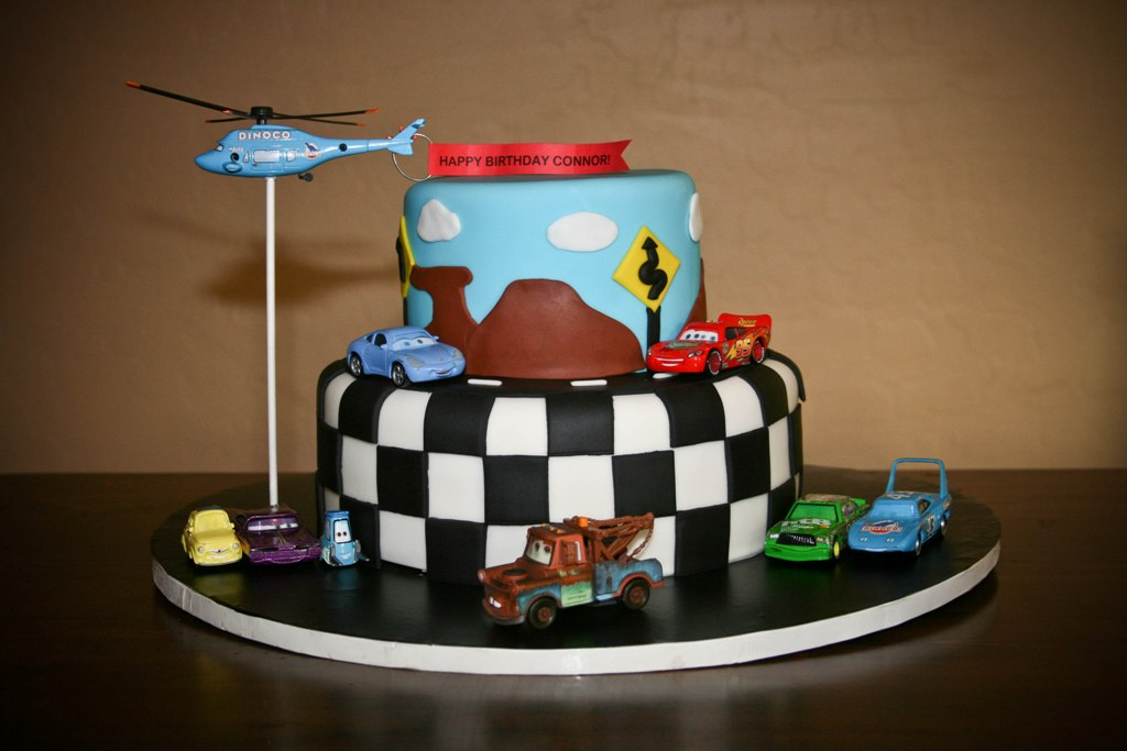 Cars For Kids >> Homemade by Hillary: Disney Cars Cake
