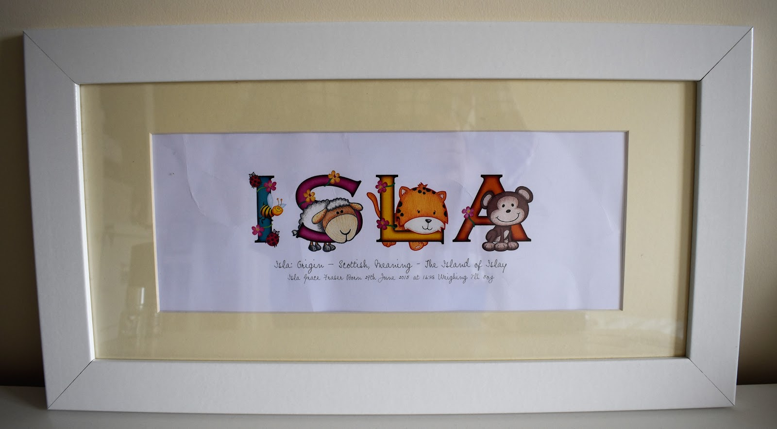My Mummy\'s World : Frame My Name Personalised Wall Prints | A Review ...