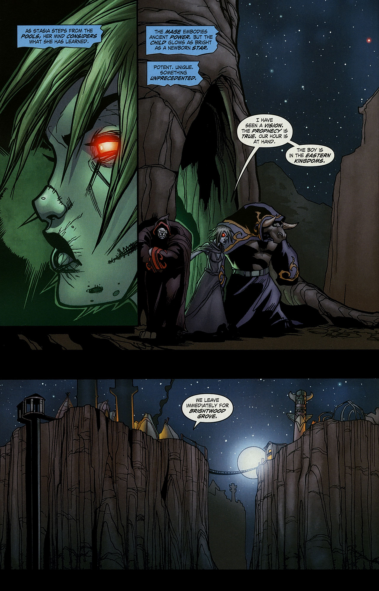 Read online World of Warcraft comic -  Issue #15 - 7