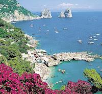 Isla de Capri. Islas de Italia. Que visitar en Italia. Lugares Sorprendentes del mundo. Sur de Italia