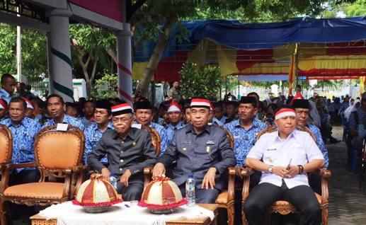 Merah Putih Warna,i Pelaksanaan, Gebyar, Nusantara, Bersatu, Di, Kab.Kep.Selayar