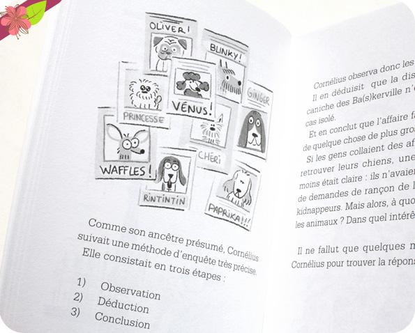 Cornélius Holmes et le caniche des Ba(s)kerville de Davide Cali - éditions La Palissade