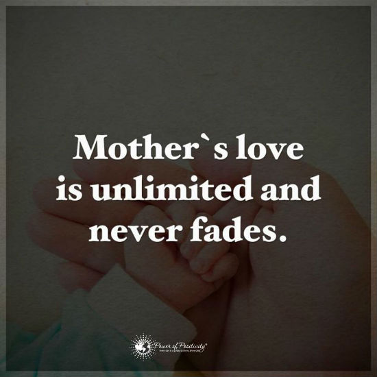 Mother's Love Is Unlimited And Never Fails Quote 60 Quotes Stunning A Mothers Love Quotes 2