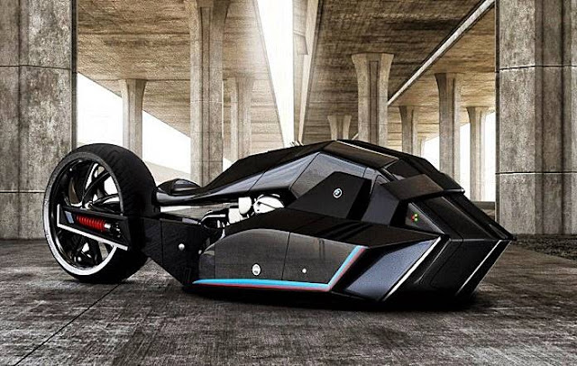 BMW Titan Motorcycle Concept Future