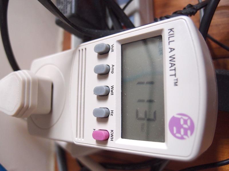 從新竹出發: 耗電測試: 電腦與網路