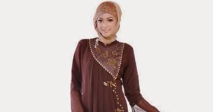 65 Model Baju Muslim Gamis Khas Tanah Abang Terbaru 2017
