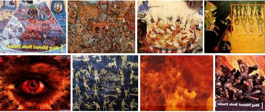 7 Gambaran Neraka dari Berbagai Agama