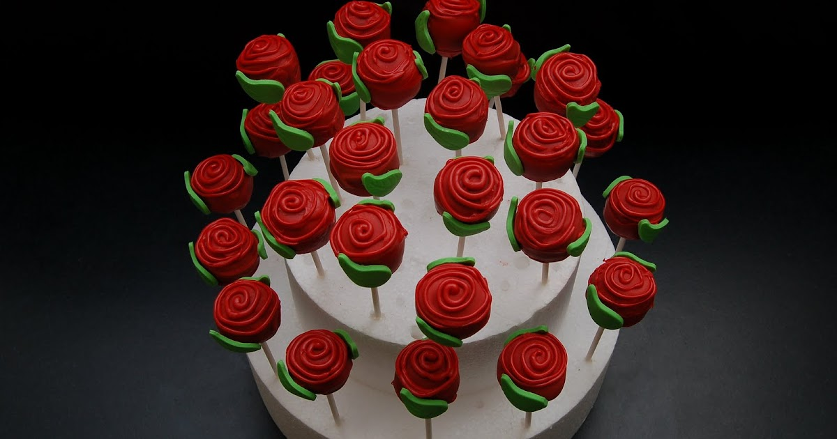 My Little Cake Room Roses are red Cake Pops are cute Do I have to share these with you