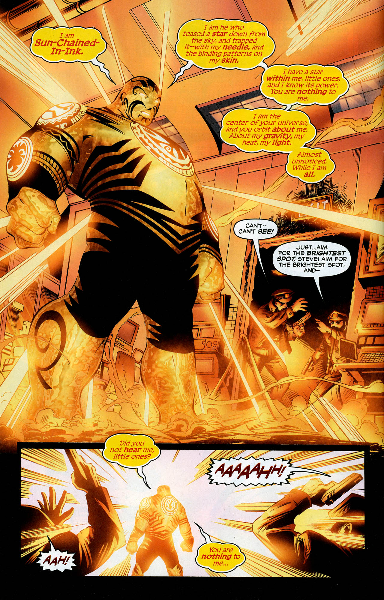 Read online Trinity (2008) comic -  Issue #10 - 4