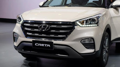 2017 Hyundai Creta Facelift front bumper with Headlight