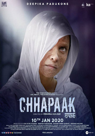 Chhapaak 2020 Full Hindi Movie Download Hd In DVDScr