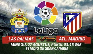 Prediksi Las Palmas vs Atletico Madrid 27 Agustus 2017