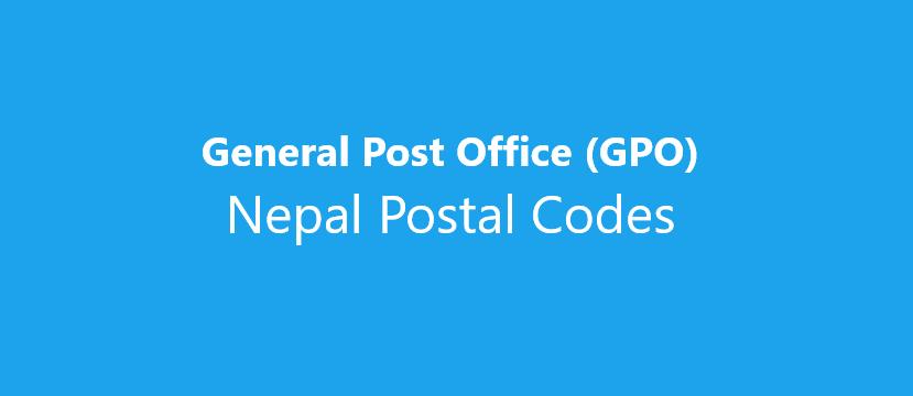 Postal Codes