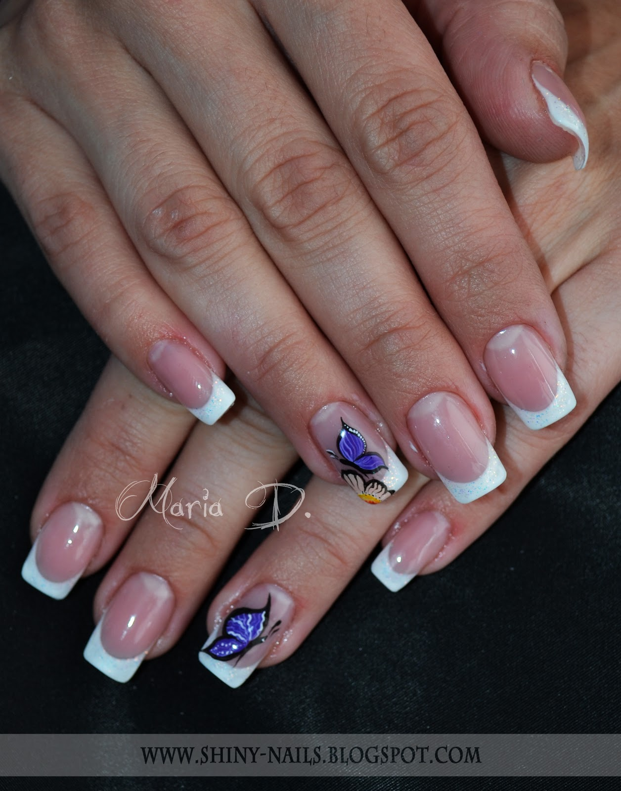 Shiny Nails By Maria D Octombrie 2011