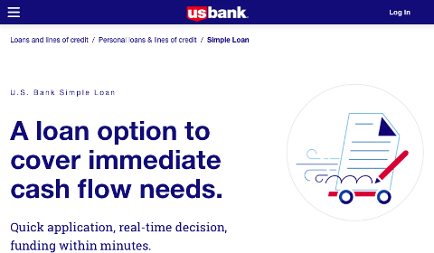 U.S. Bank Simple Loan
