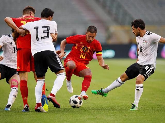 Belgia Kalahkan Mesir 3-0