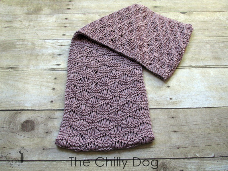 Knitting Pattern: Unwind Infinity Scarf | The Chilly Dog