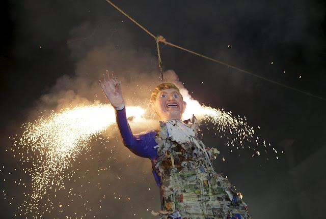 When Donald Trump got burn