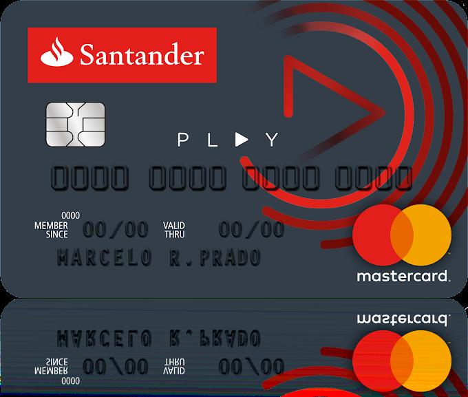 Cartão Santander Play: cartão de crédito sem comprovação de renda para universitários