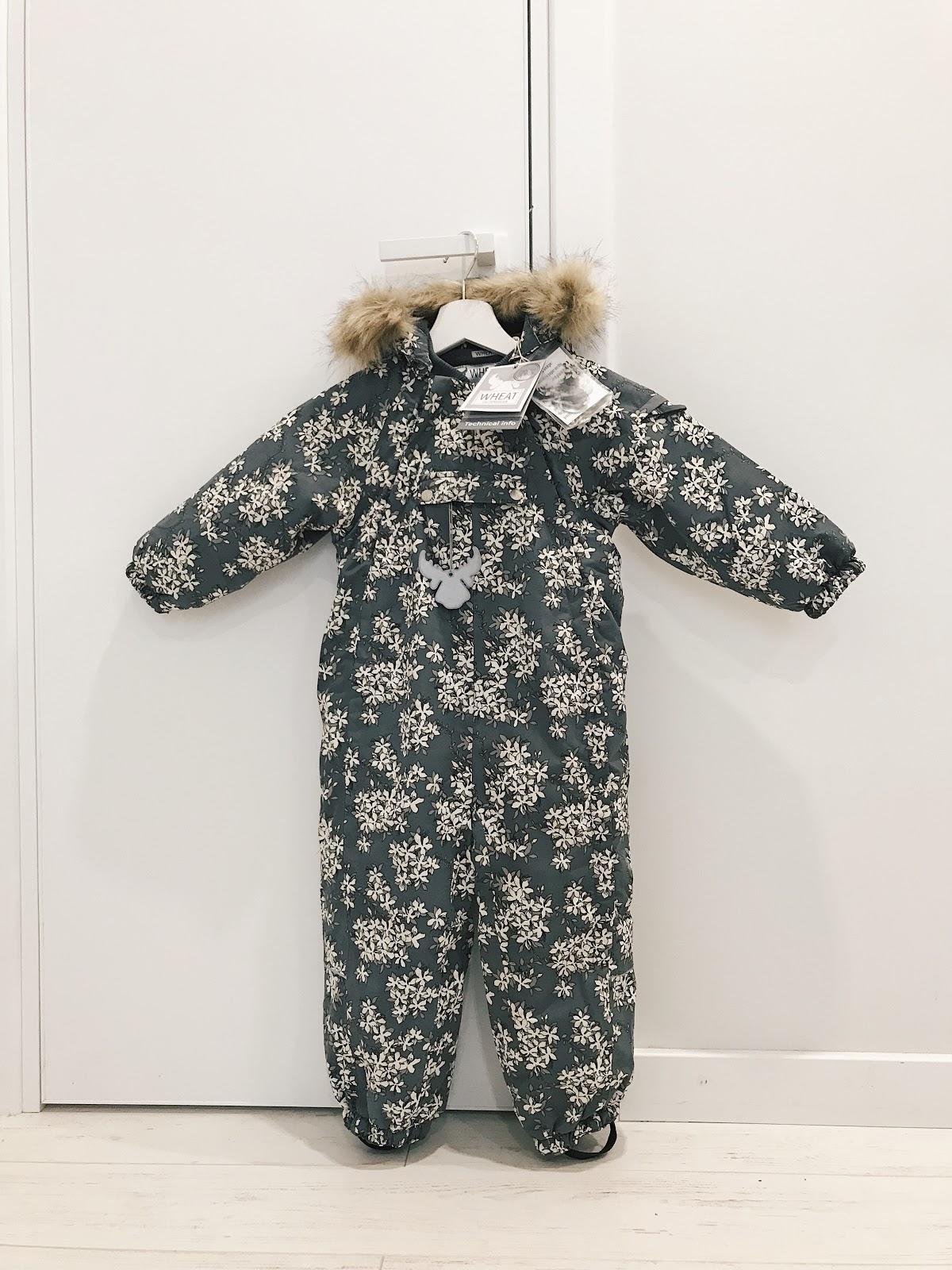 WHEAT  Snowsuit Nickie Steel комбинезон отзыв обзор