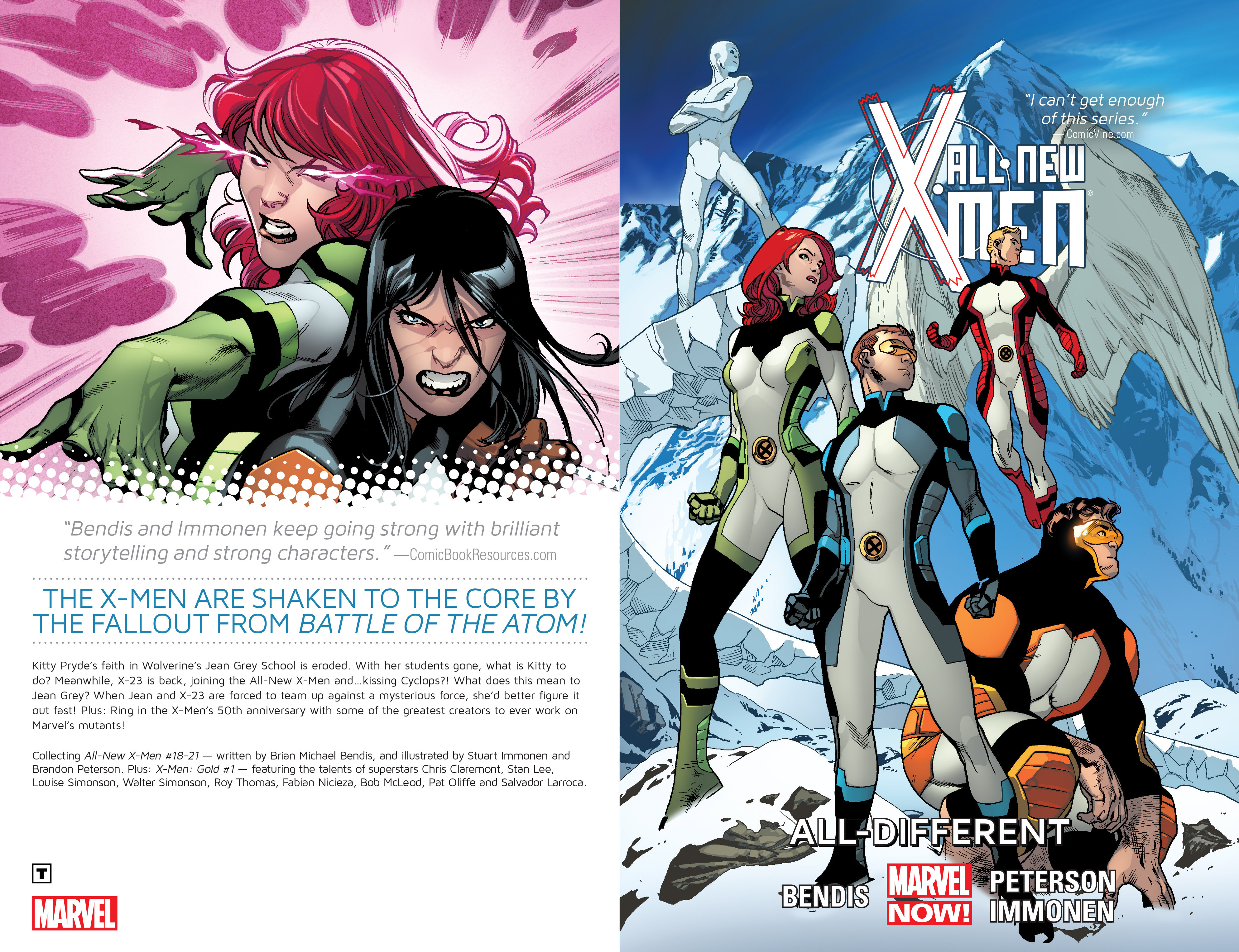 Read online All-New X-Men (2013) comic -  Issue # _Special - All-Different - 2