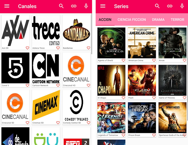 Nueva app para ver televisión gratis