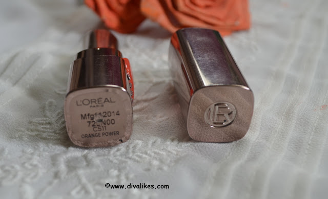 L'Oreal Paris Color Riche Moist Matte Lipstick Orange Power Shade