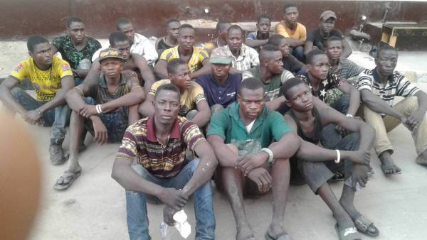 30 Wheelbarrow pushers arrested by Lagos State Government