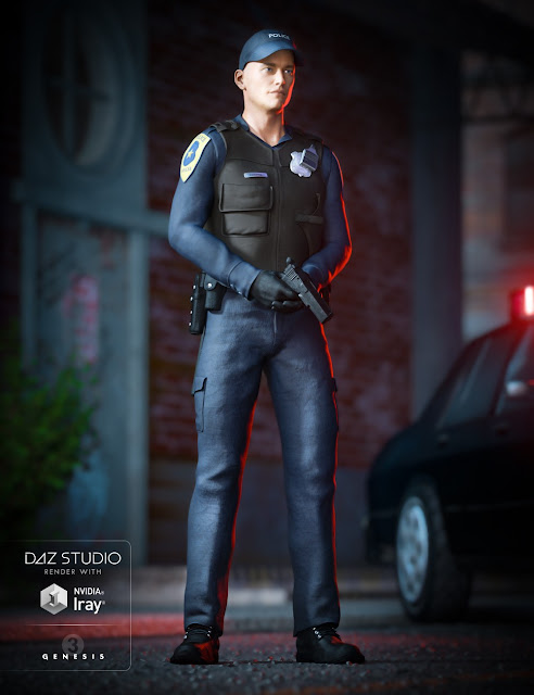 Law Enforcement Outfits for Genesis 2 and 3 Male