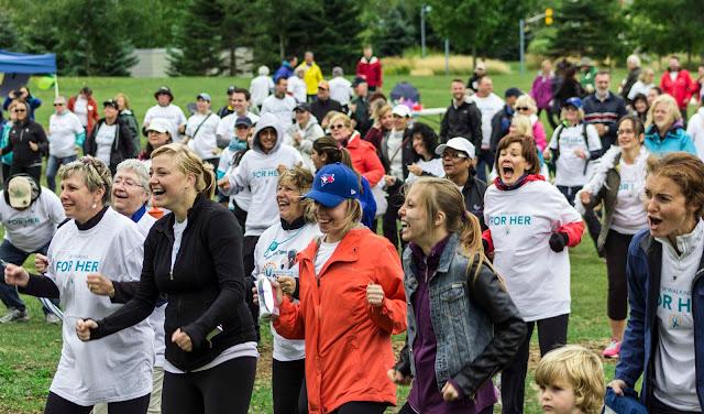 CSM IMAGE - Ovarian Cancer Canada Walk of Hope Toronto
