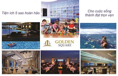 Tiện ích dự án Alphanam Golden Square