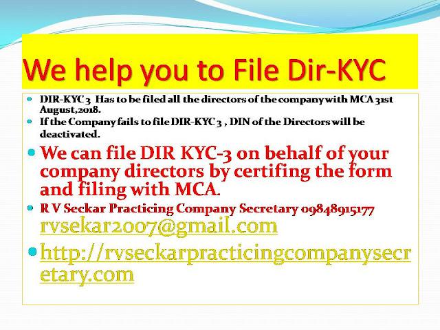 R V Seckar Practicing Company Secretary 09848915177 rvsekar2007@gmail.com