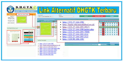 Link Alternatif DHGTK 2019 ( Login Absen Guru Online )