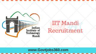 IIT Mandi Recruitment 2016 – Project Scientist/ Engineer Posts