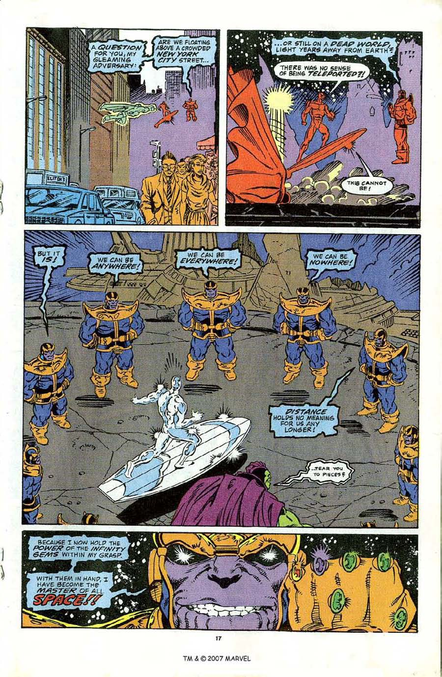 Read online Silver Surfer (1987) comic -  Issue #44 - 19