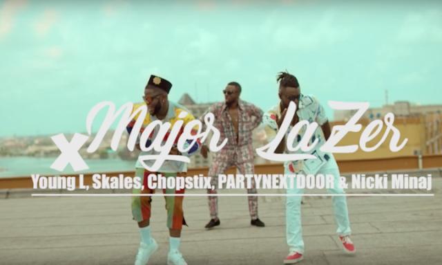 Video: Major Lazer Ft. Partynextdoor, Nicki Minaj, Yung L, Skales & Chopstix – Run Up (Afrosmash Remix) SHARE ON:FacebookTwitter Google +Pinterest