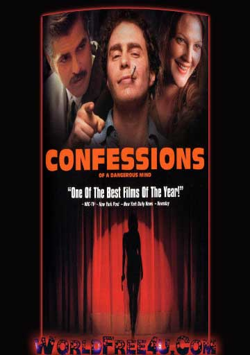 Poster Of Confessions of a Dangerous Mind (2002) Full Movie Hindi Dubbed Free Download Watch Online At worldfree4u.com