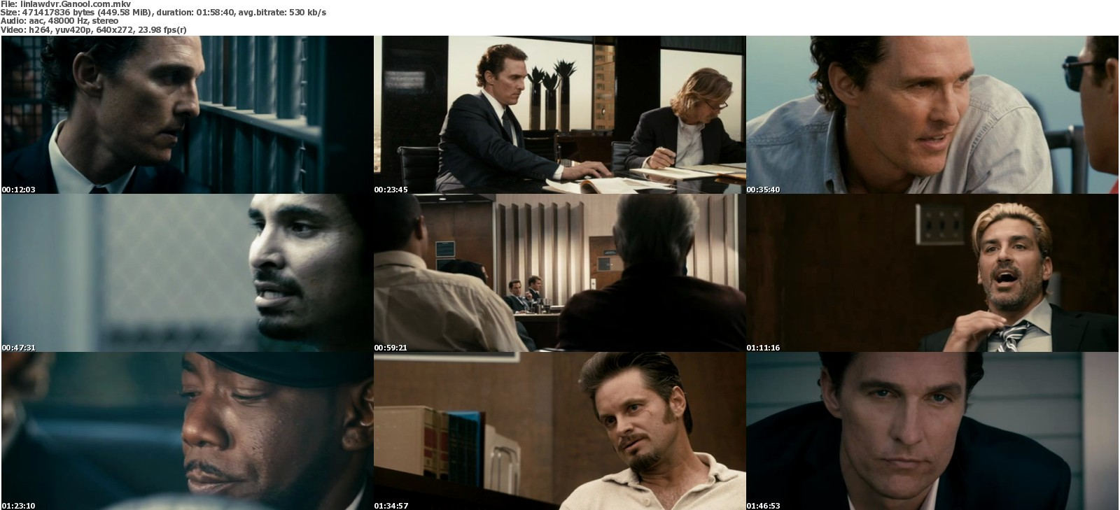 lincoln lawyer dvdrip