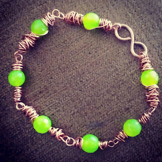 Copper Bracelets/Bangles, Wire Wrapped Jewellery, Copper Jewelr