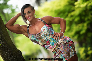physique competitor Tarna Alderman
