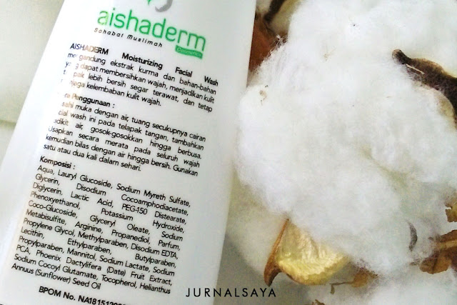 facial wash aishaderm