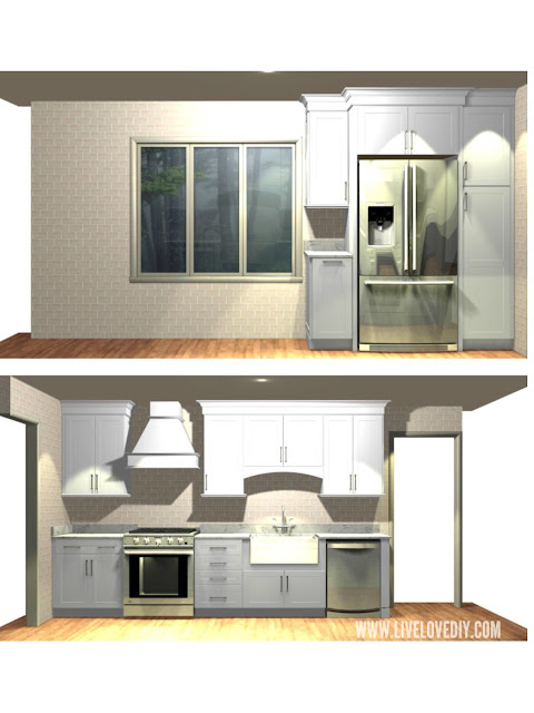 kitchen makeover layout ideas