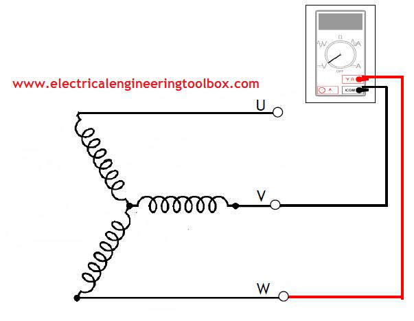 How To Test Three - Phase AC Motors ~ Learning Electrical ...  Phase Induction Motor Wiring Diagram High Amp Low Voltahe on