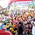 Lebih 12 Ribu Masyarakat Meriahkan Gerak Jalan HUT ke 71 Sumut