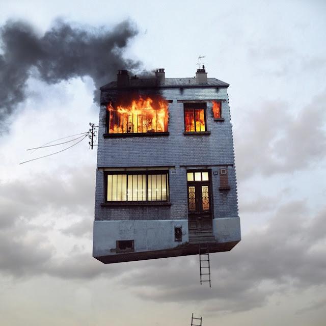 Flying Houses, Casas voladoras que muestran la otra cara de París