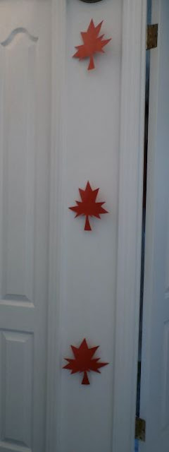 Floating maple leaves by eSheep Designs