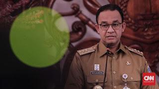 Pose 2 Jari di Acara Gerindra, Anies Terancam 3 Tahun Penjara Gubernur DKI Jakarta Anies Baswedan.
