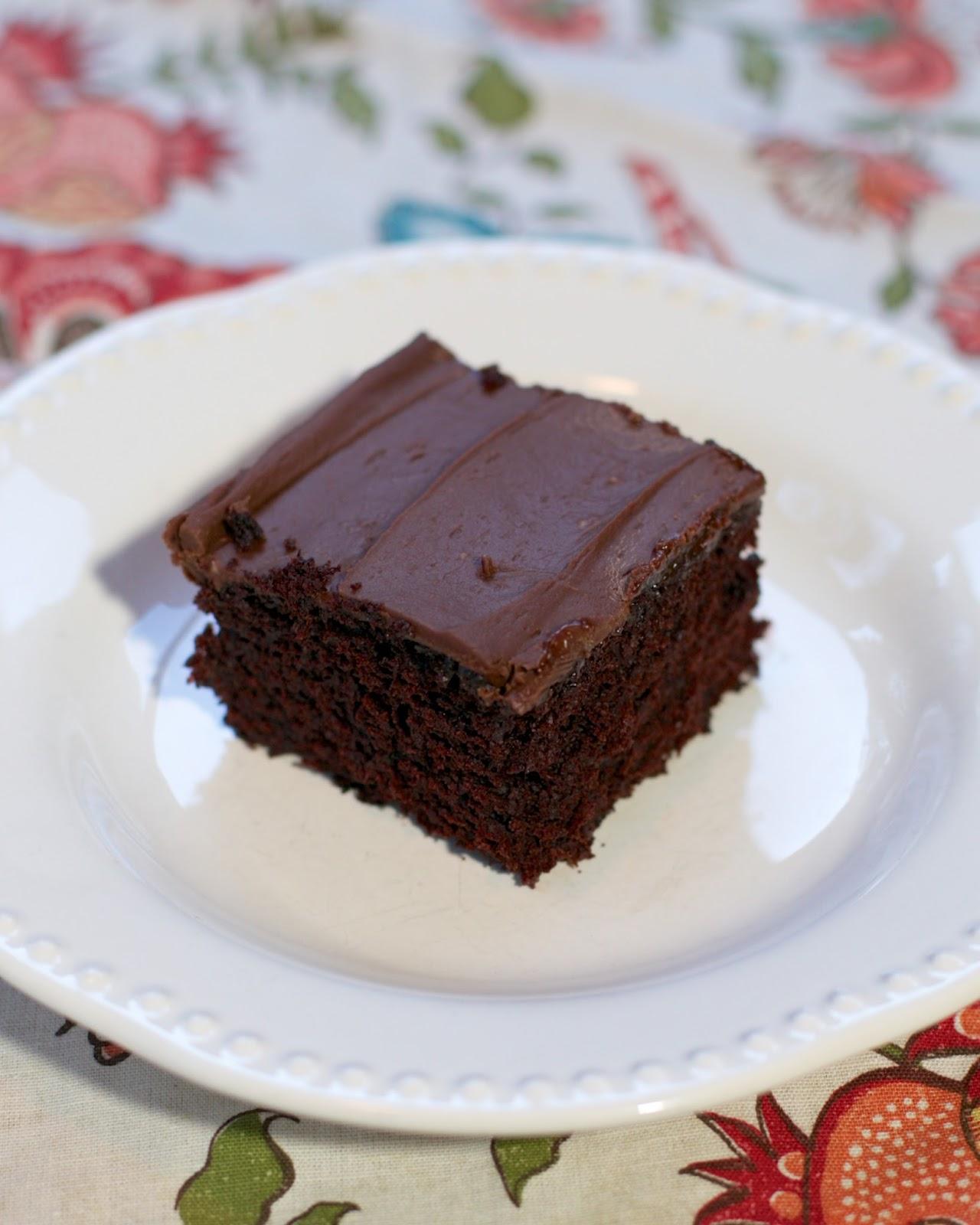 Wacky Cake Frosting Recipe