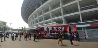 Indonesia versus Jepang Digelar di Stadion GBK