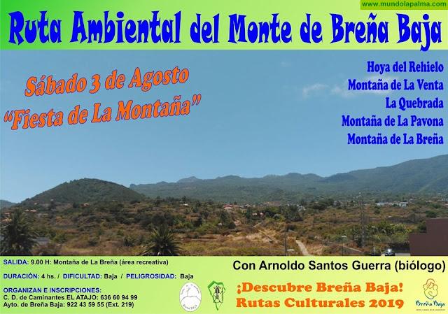 Ruta Ambiental del MONTE de Breña Baja